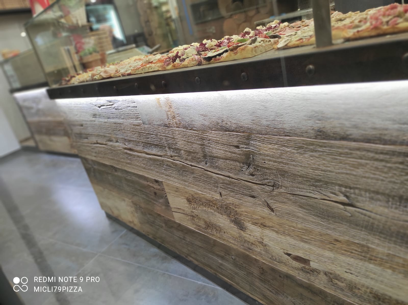 Antique alder of counter in Sottomarina